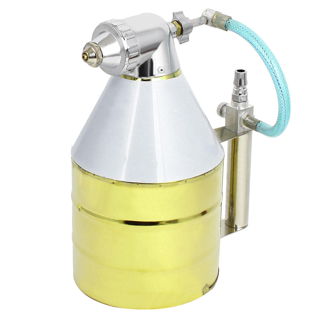 4mm Nozzle Air Hopper Spray Gun Painting Sprayer Tool for Wall