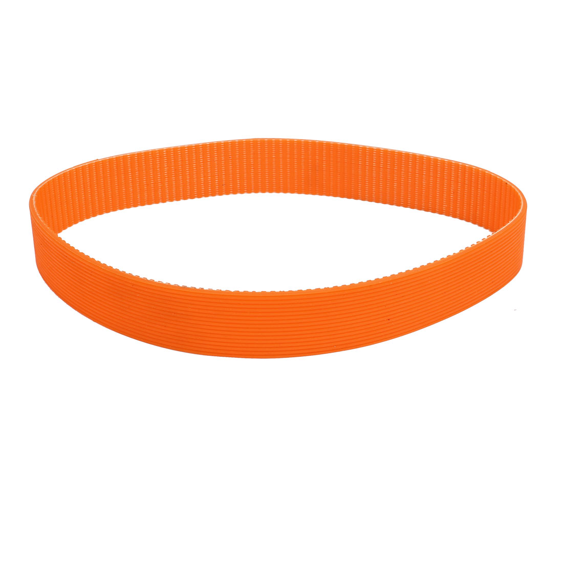49cm Girth 25mm Width Plastic Cutting Machine Driving Belt Replacement Orange