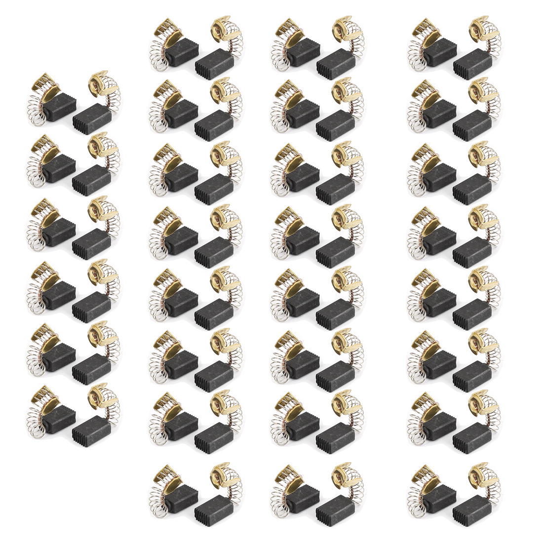 13mm x 8mm x 5mm Motor Carbon Brushes 60 Pcs for Generic Electric Motor
