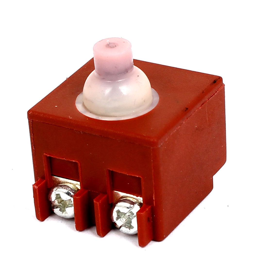 AC 125V 5A/250V 10A Momentary Contact Non-locking Push Button Switch