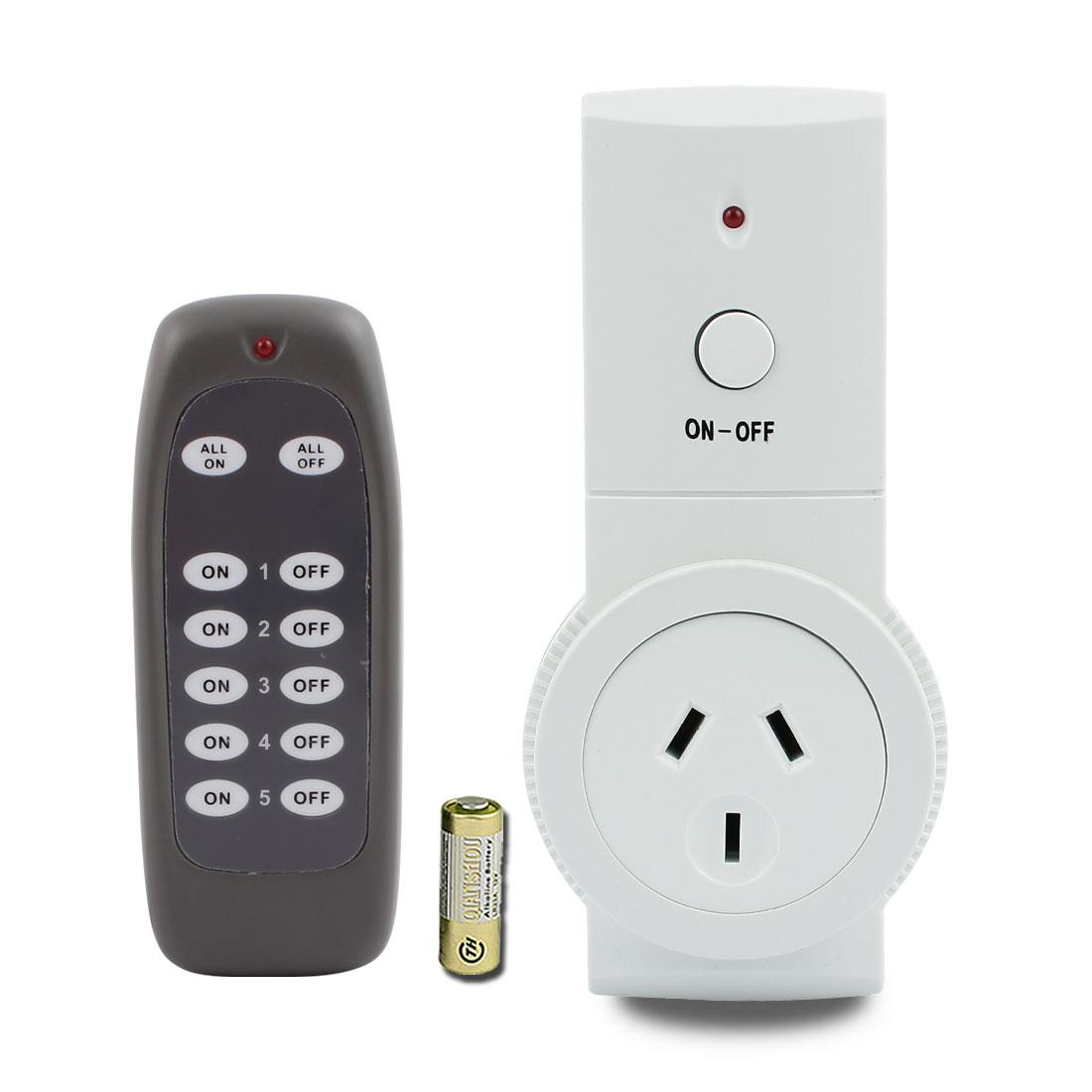 240VAC AU Plug Smart Wireless Power AU Socket Switch Outlet w Remote Control