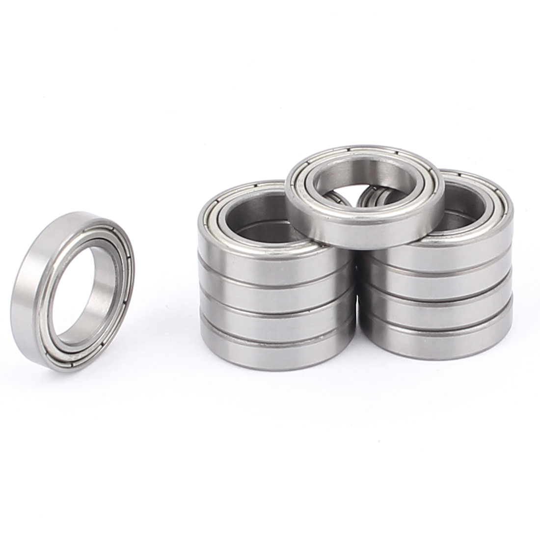 Pack of 10 Balls Bearing 6802Z ID (Inner Diameter 15mm)