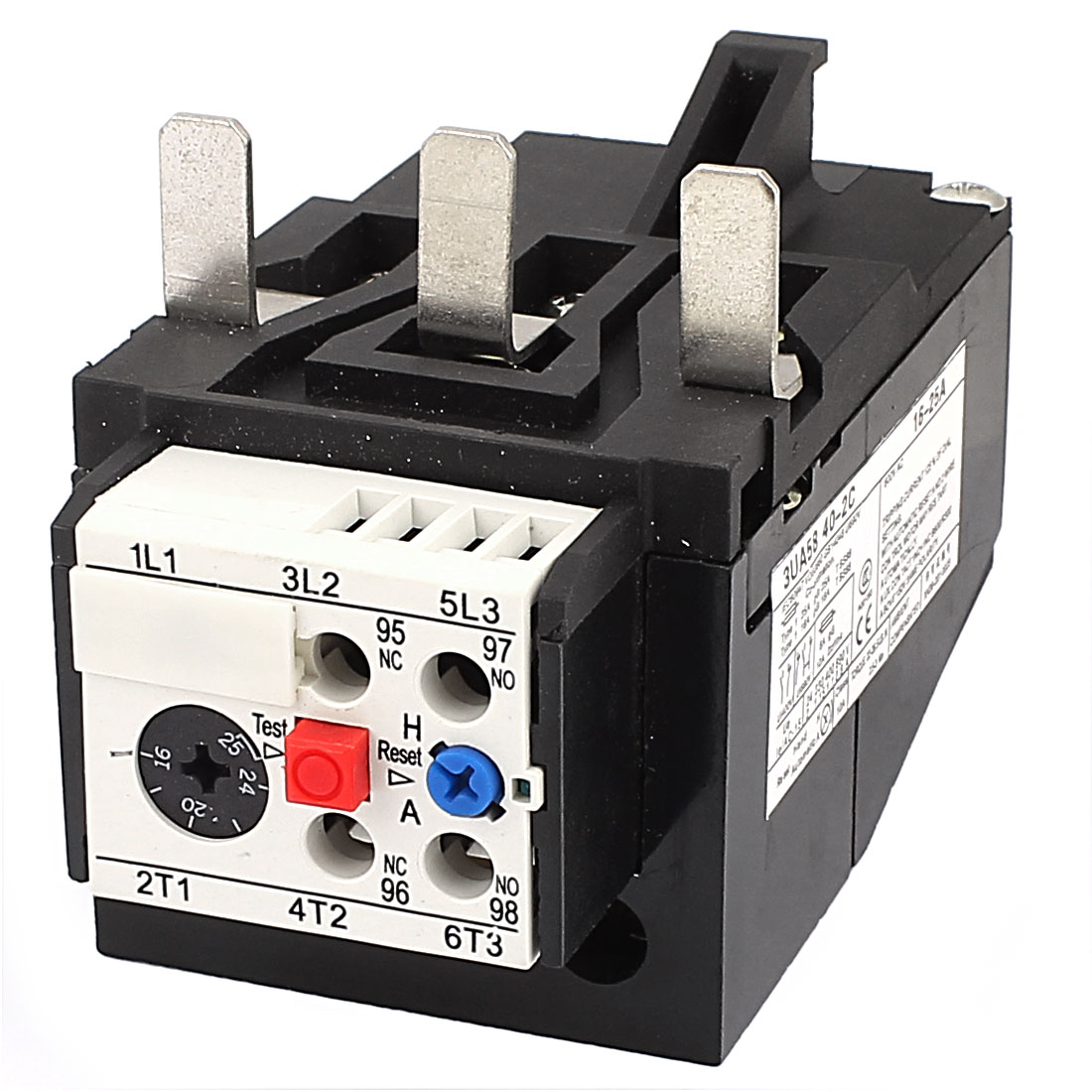 3UA58 40-2C 16-25A 2NO 2NC Adjustable Motor Protector Electric Thermal Overload Relay