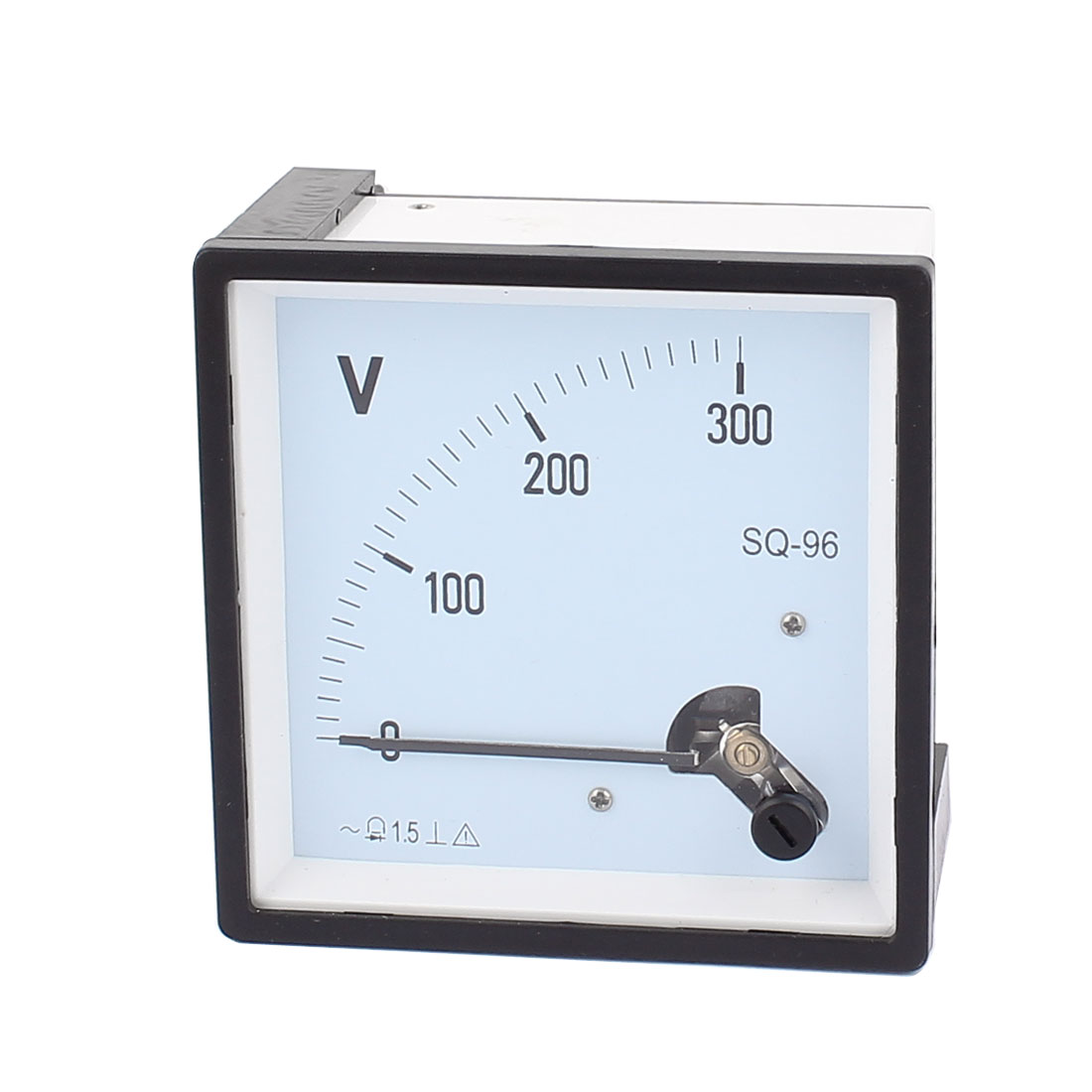 SQ96 Pointer Needle AC 0-300V Volt Tester Panel Analog Voltmeter 96mm x 96mm