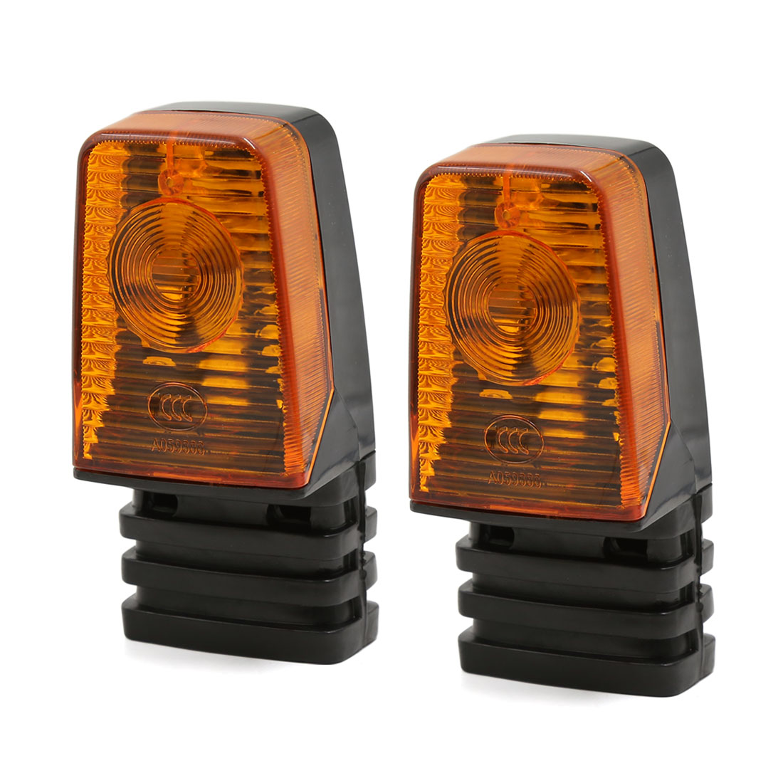 2pcs DC 12V Amber Motorcycle Turn Signal Blinker Light Indicator Lamp for Suzuki