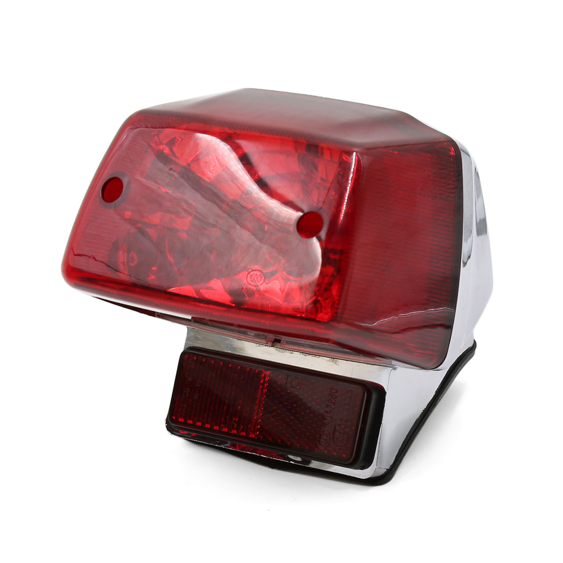Red Integrated Lamp Turn Signal License Plate Tail Light for Prince Motorcycle