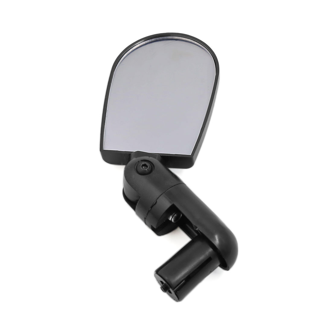 Black 360 Degree Rotatable Bike Bicycle Cycling Handlebar Grip Rearview Mirror