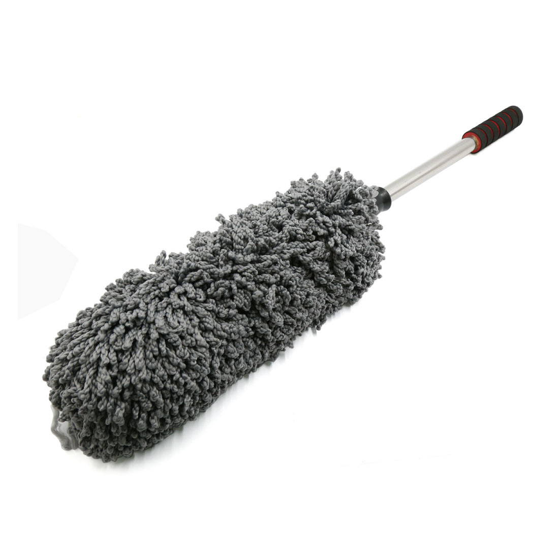Car Nonslip Foam Telescopic Handle Microfiber Duster Dust Wax Mop Dusting Tool