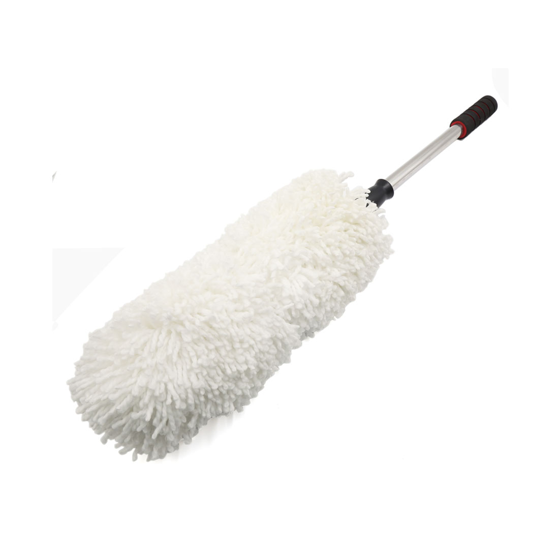 Home Car White Microfiber Telescoping Duster Extendable Cleaning Dust Tool