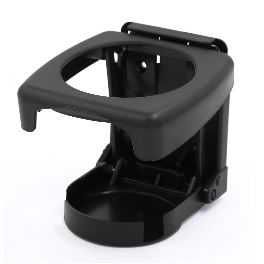 9.5cm Height Plastic Car Air Vent Outlet Drink Holder Bottle Bracket Stand Black