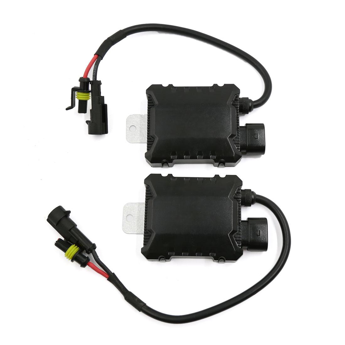 2pcs Mini Ultra Slim HID Xenon Ballast 35W for H1 H3 H7 H8 H9 H10 H11 Light Bulb