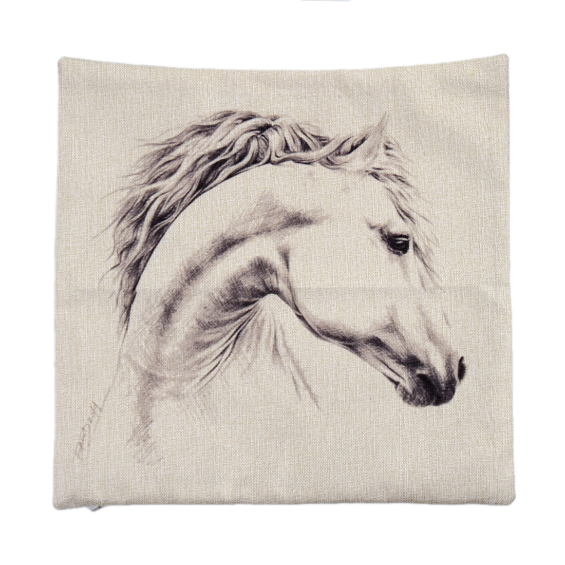 Piccocasa Sofa Bed Horse Pattern Throw Cushion Pillow Cover Case 45 x 45cm