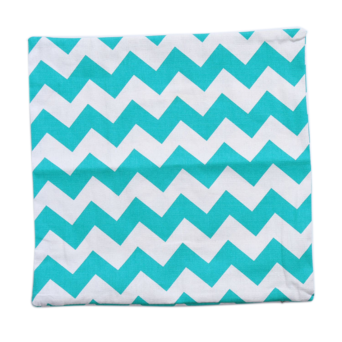 Piccocasa Sofa Bed Throw Cushion Pillow Cover Case Green Blue White 45 x 45cm