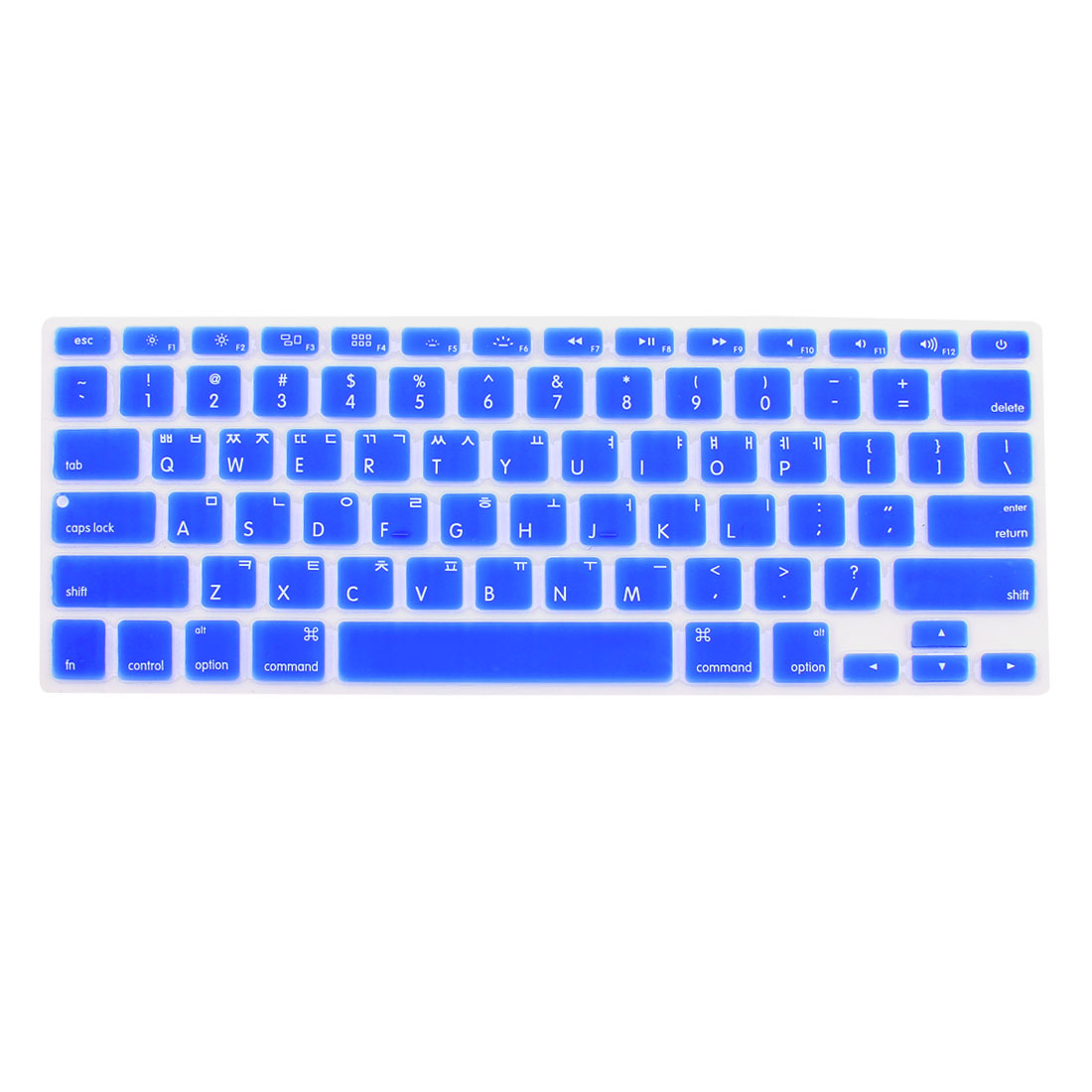 "Korean Silicone Keyboard Skin Cover Dark Blue for Apple Macbook Air 13""15""17"""