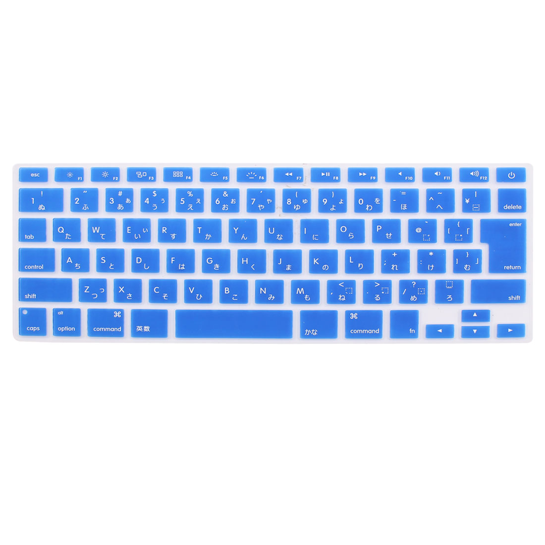 "Japanese Silicone Keyboard Skin Cover Dark Blue for Apple Macbook Air 13""15""17"""