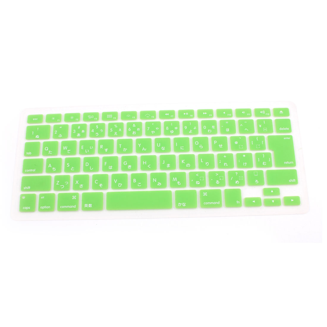 "Japanese Silicone Keyboard Skin Cover Green for Apple Macbook Air 13""15""17"""