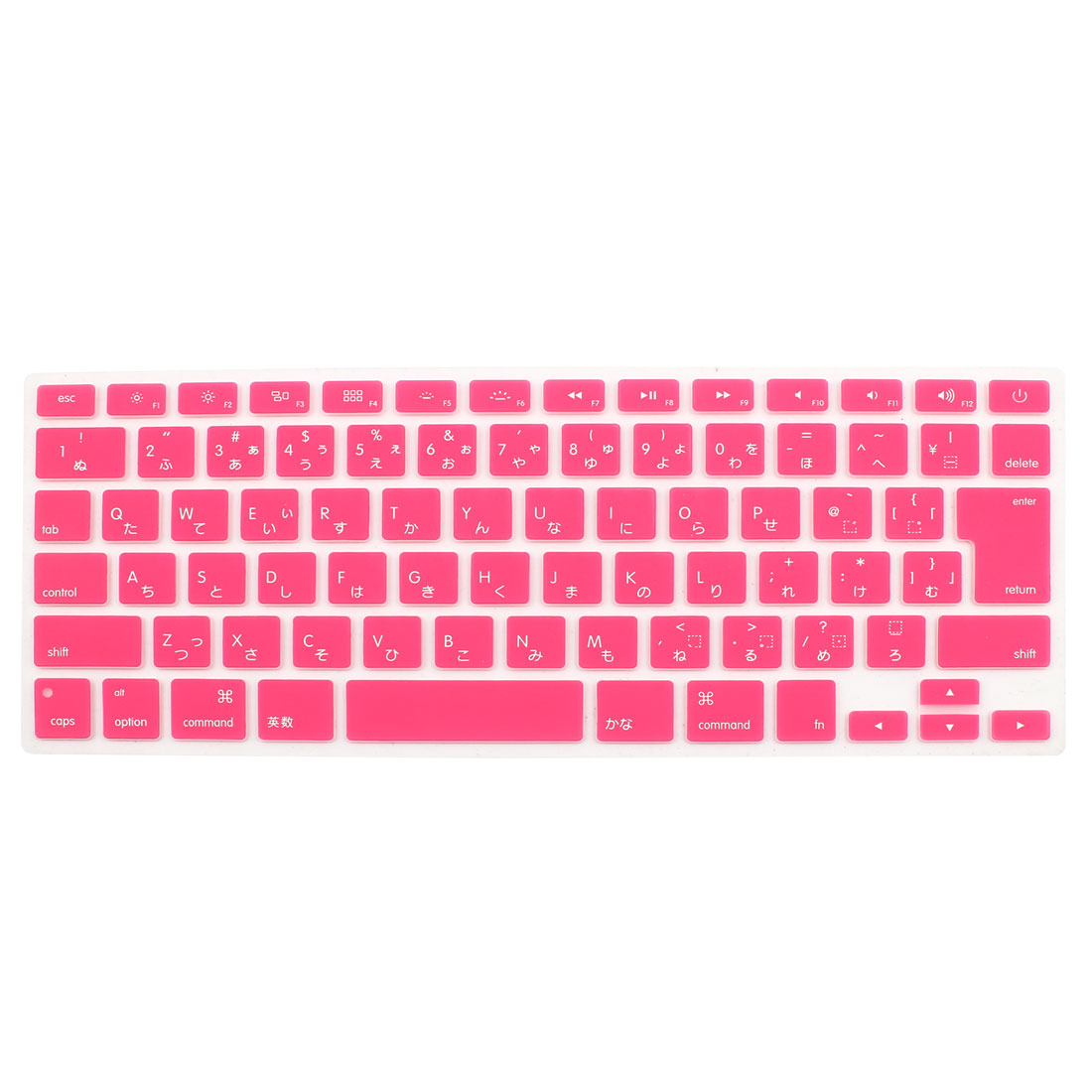 "Japanese Silicone Keyboard Skin Cover Red for Apple Macbook Air 13""15""17"""