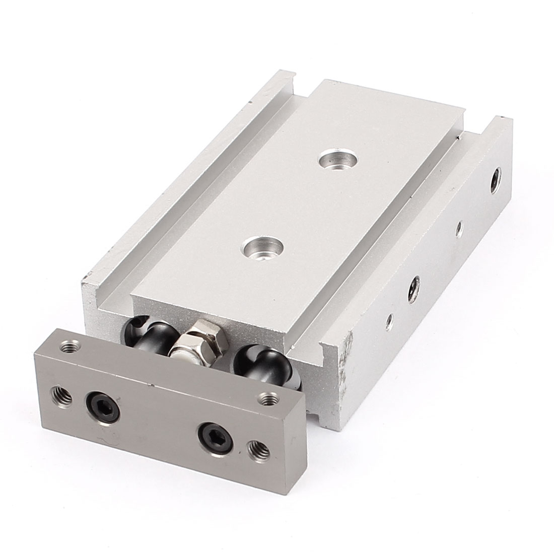 CXSM10x20 Double Rod Dual Acting Compact Aluminum Alloy Pneumatic Air Cylinder 0.7Mpa
