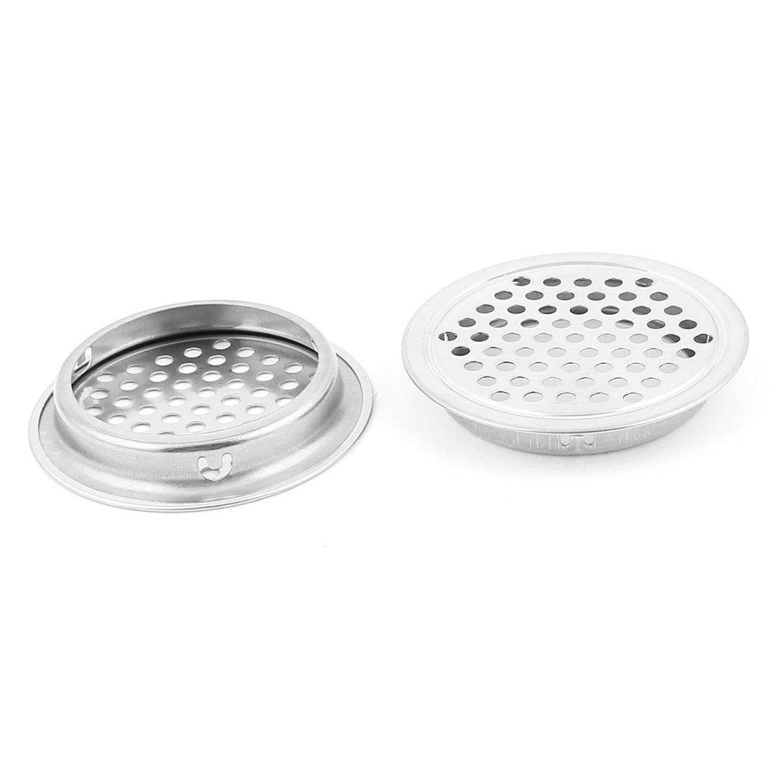 Kitchen Bathroom Bathtub Metal Mesh Hole Waste Sink Strainer Filter Drain Stopper 2pcs