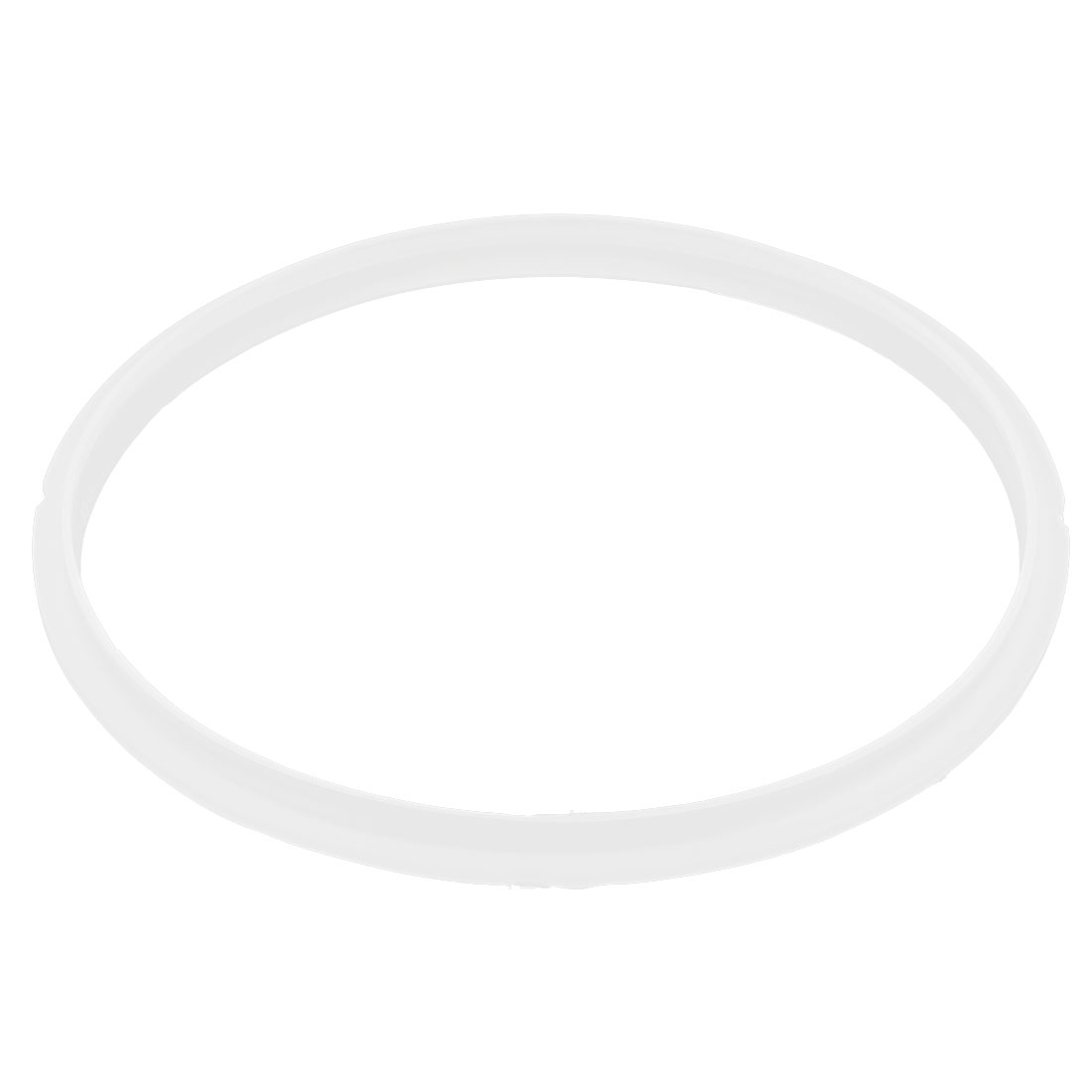 Kitchen Pressure Cooker Canner Gasket Rubber Seal Sealing Ring 22cm Inner Dia Clear White