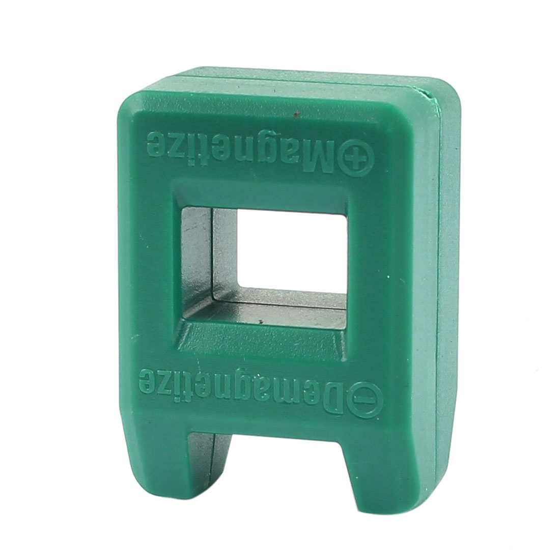 Screw Bit Nut Bits Screwdriver Magnetizer Demagnetizer Magnetic Tool Green 40mmx29mm