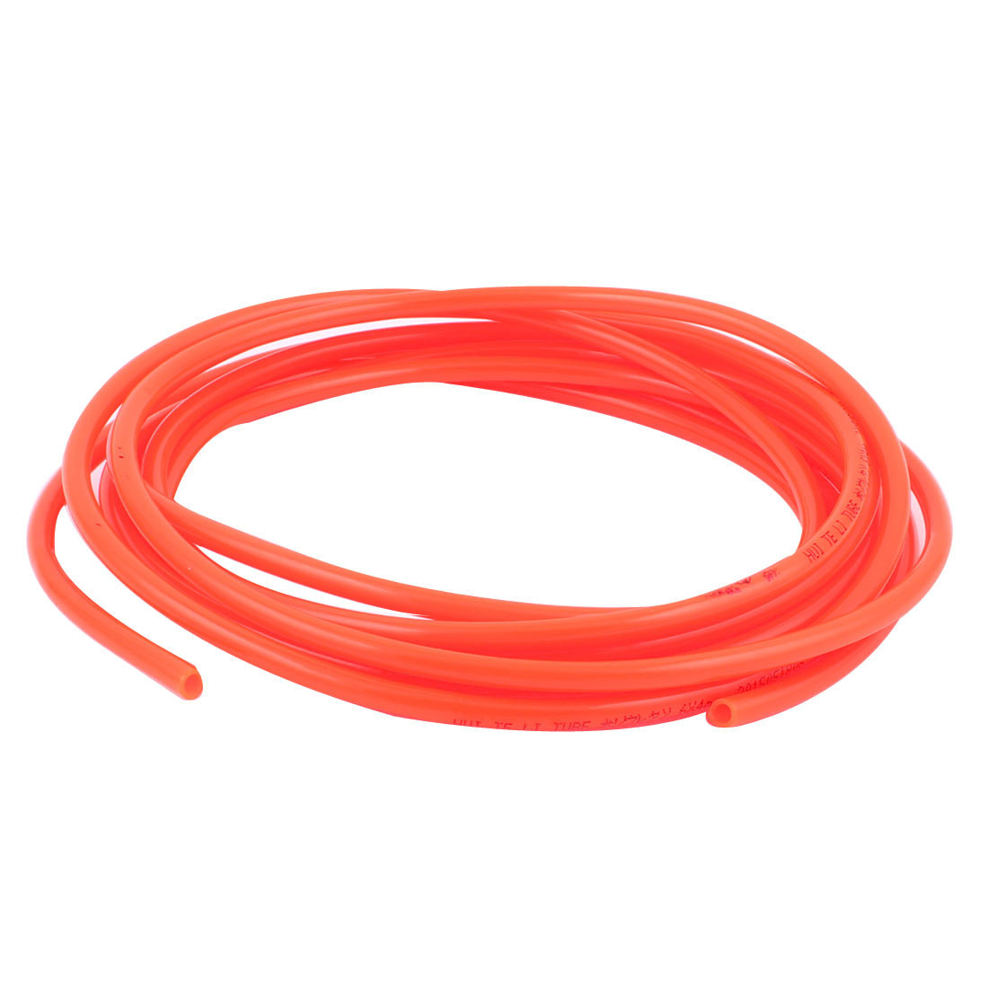 5M 16.4Ft Length 6mmx4mm Dia Pneumatic Polyurethane PU Air Tube Tubing Pipe Hose Red