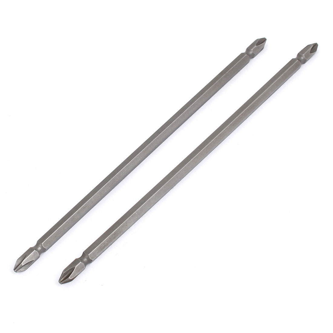 200mm Long PH2 Magnetic Dual End Phillips Screwdriver Bits 2pcs