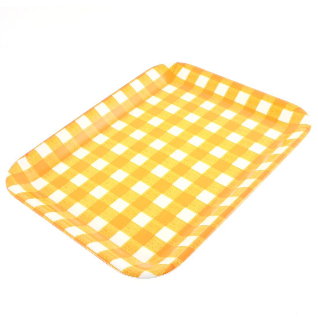 "Hotel Restaurant Rectangle Shaped Fast Food Cake Serving Tray 13"" Length"