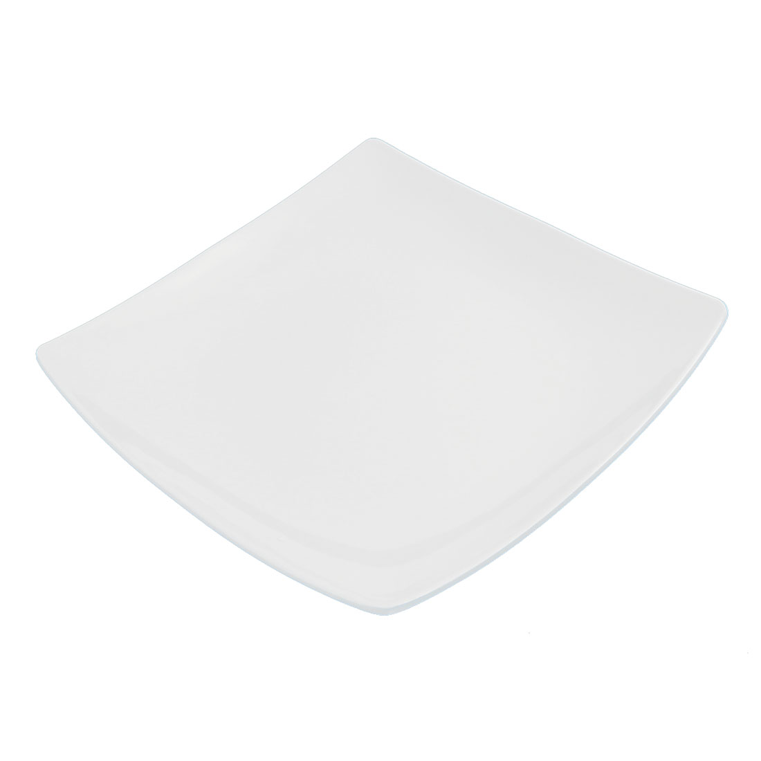 "Restaurant Dinnerware Plastic Square Shaped Steak Dish Plate 9.5"" x 9.5"""