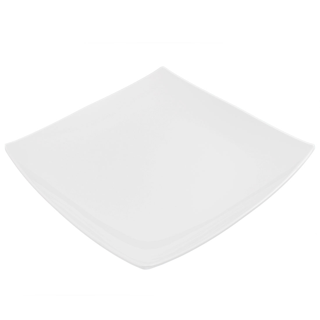Restaurant Plastic Square Shaped Steak Fast Food Dish Plate