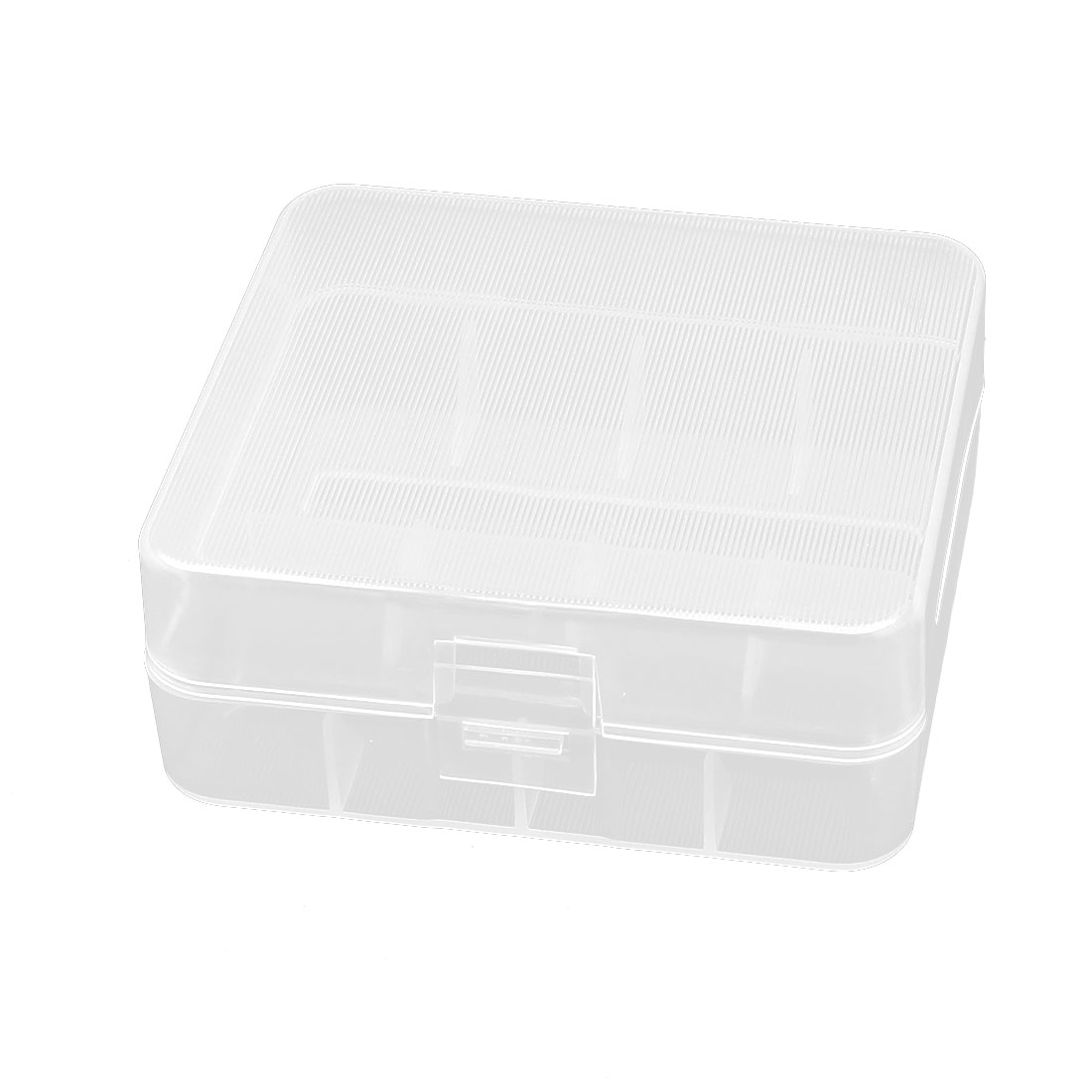 Hard Clear Plastic Case Holder Storage Box Container for 2 x 26650 Battery
