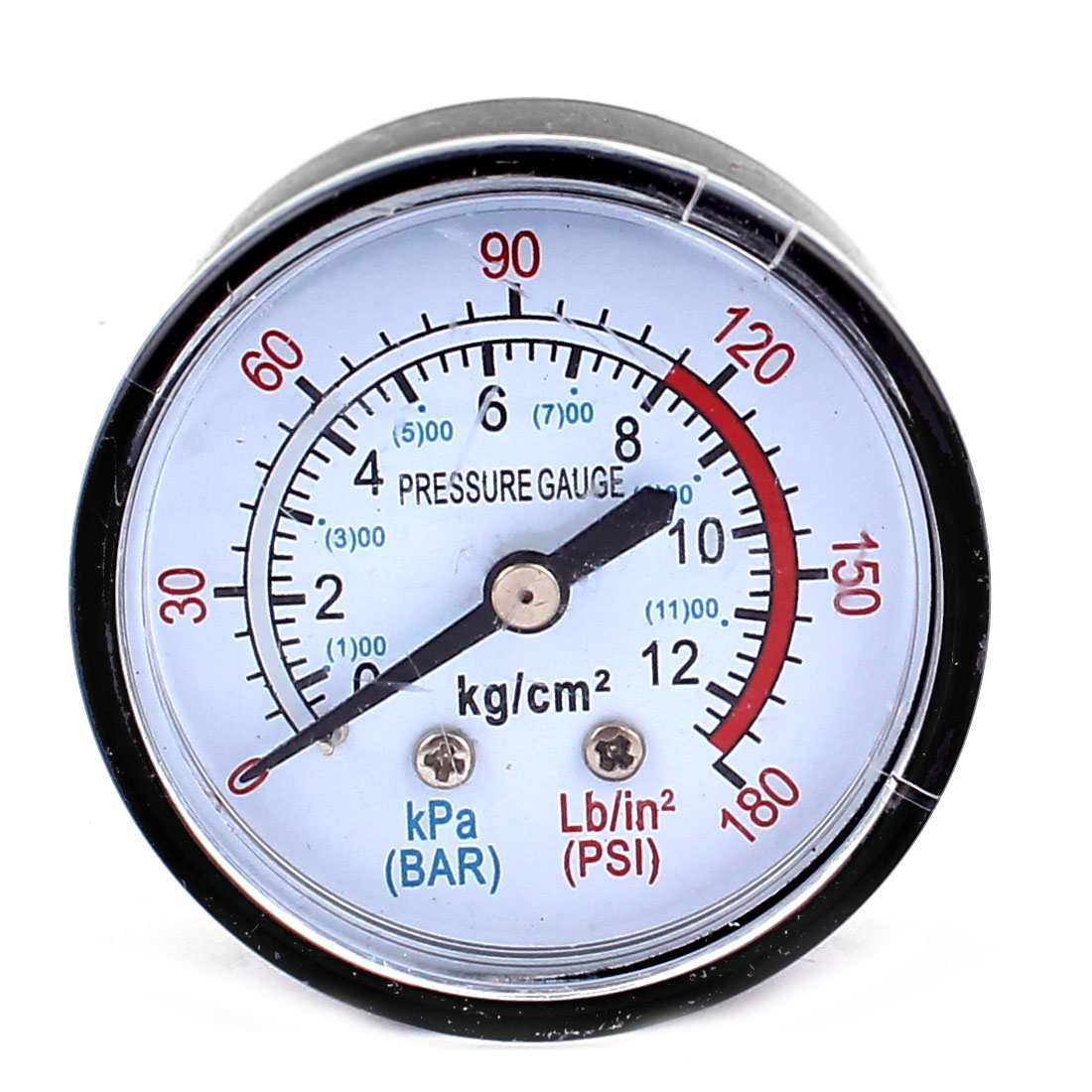13mm 1/4BSP Male Thread Water Air Compressor Pressure Gauge Meter