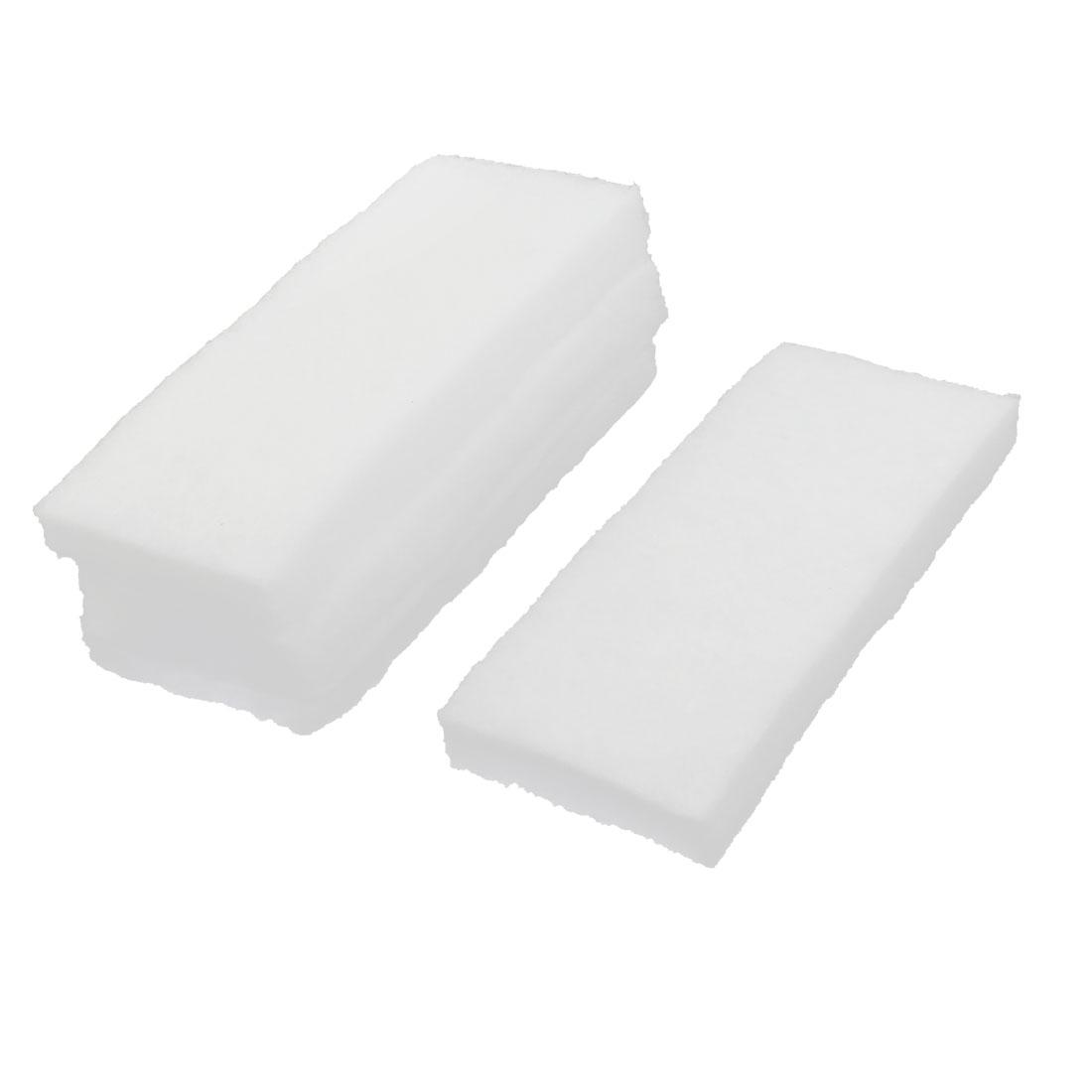 Aquarium Fresh Water Recycling Biochemical Filter Sponges White 5 Pcs