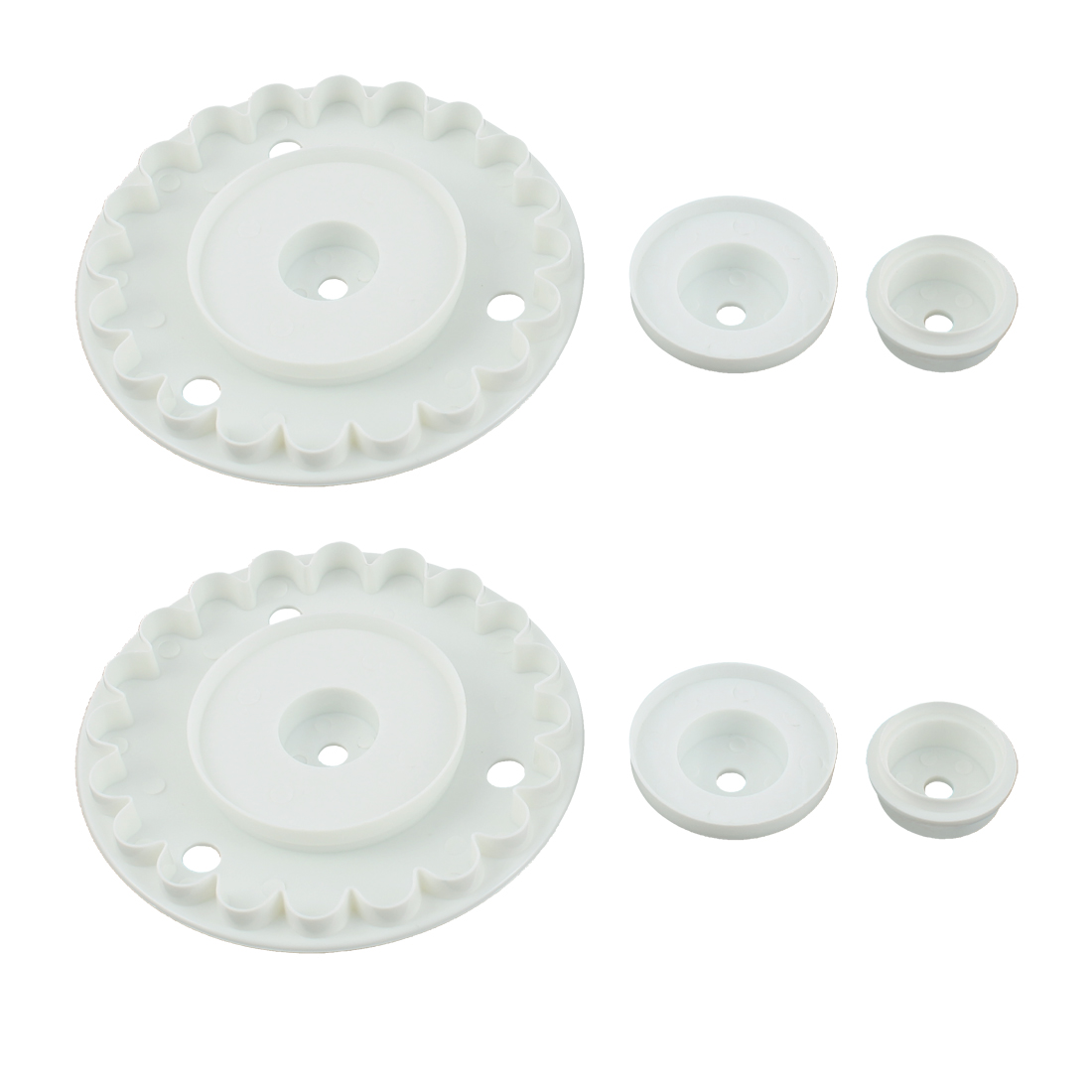 Fondant Cake Sugarcraft Decorating Garrett Frill Cutter Set 8 in 1