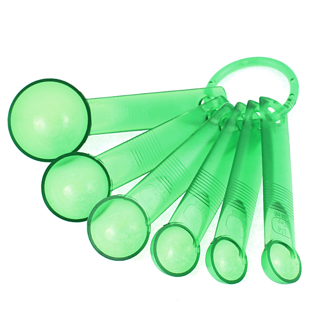Kitchen Cooking Plastic Measuring Spoon Cup Baking Utensil Tools Set Green