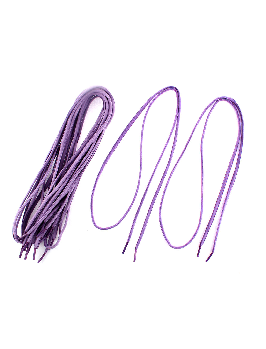 Sneakers Canvas Shoes Shoelaces String Light Purple 5 Pairs