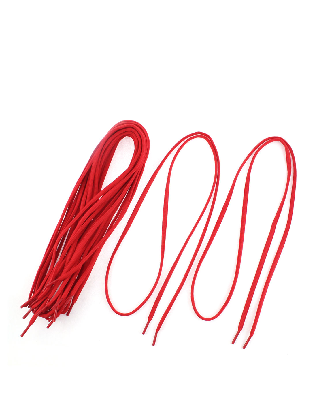 Skateboard Hiking Sneakers Shoes Shoelaces Red 5 Pairs