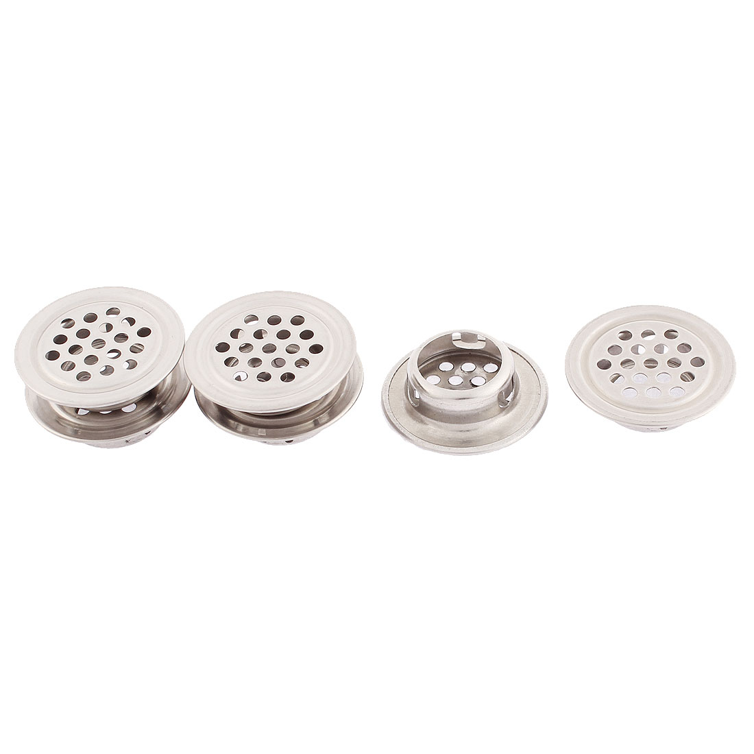 Kitchen Cabinet Metal Perforated Mesh Air Vents Louvers 30 x 8mm 6pcs