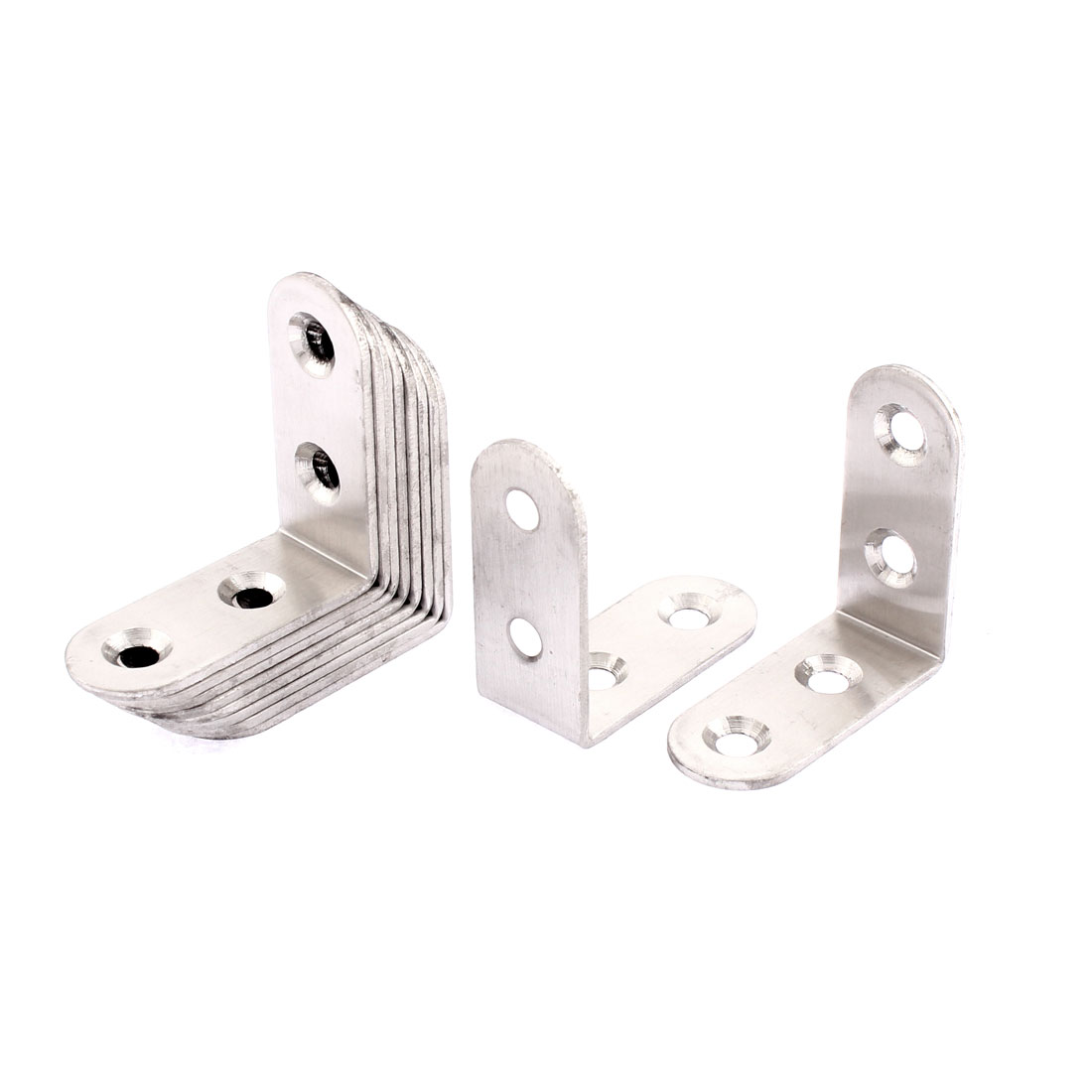 Stainless Steel L Shaped Angle Bracket 40 x 40 x 17mm 10pcs