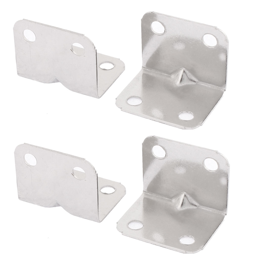 Stainless Steel Angle Brackets Support 32 x 25mm 4PCS