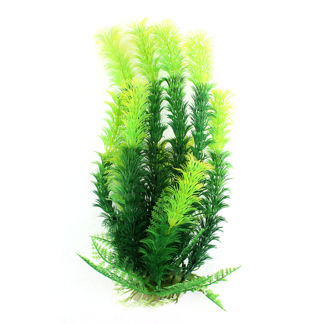 Aquarium Plastic Aquascaping Water Plant Ornament Green 27cm High