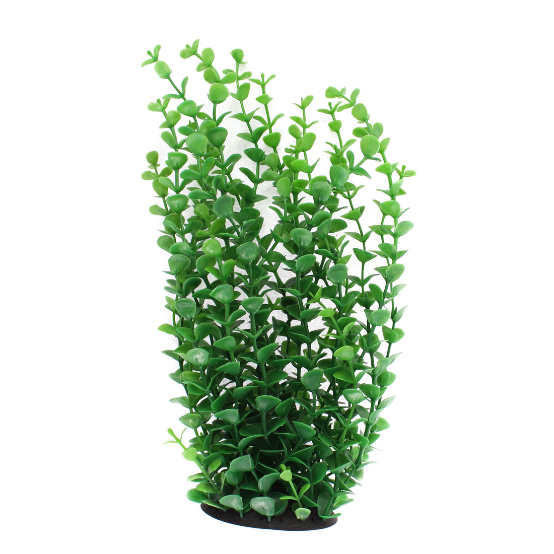 "Aquarium Plastic Artificial Plant Grass Decoration Green 10"" Height"