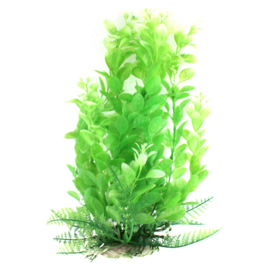 Aquarium Plastic Manmade Water Plant Ornament 23cm Height