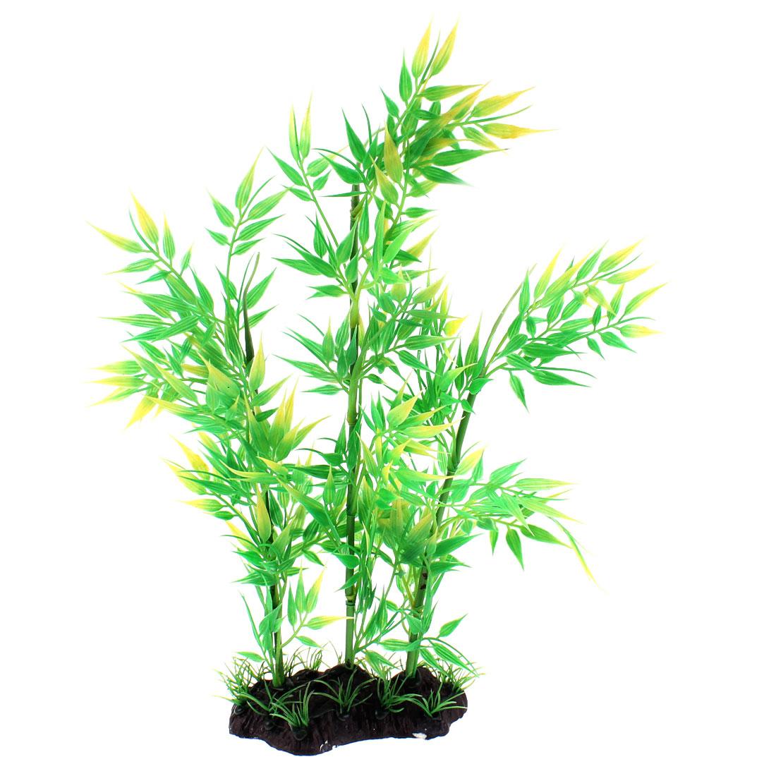 Aquarium Plastic Emulational Underwater Bamboo Plant Ornament