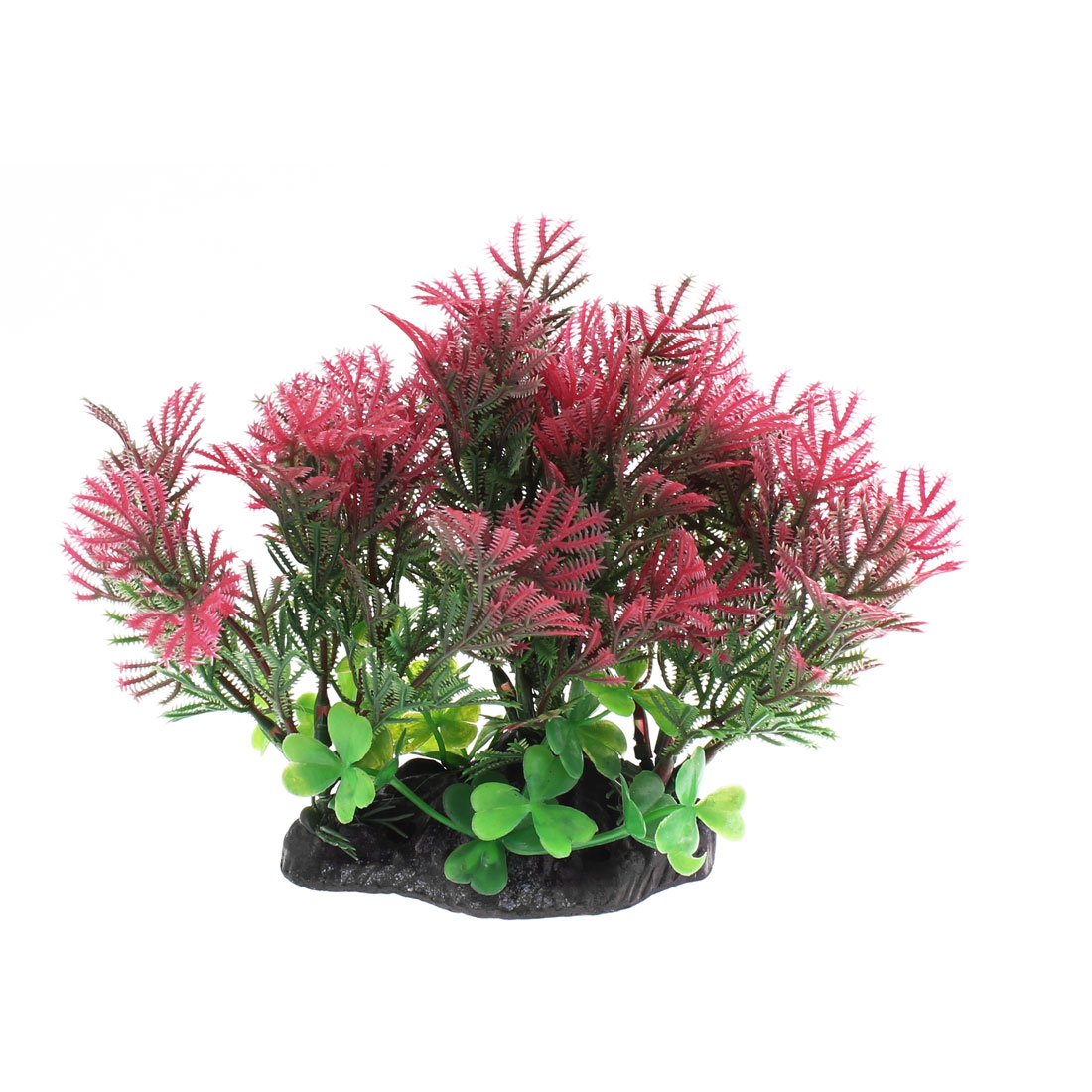 Aquarium Plastic Aquascaping Aquatic Plant Adornment