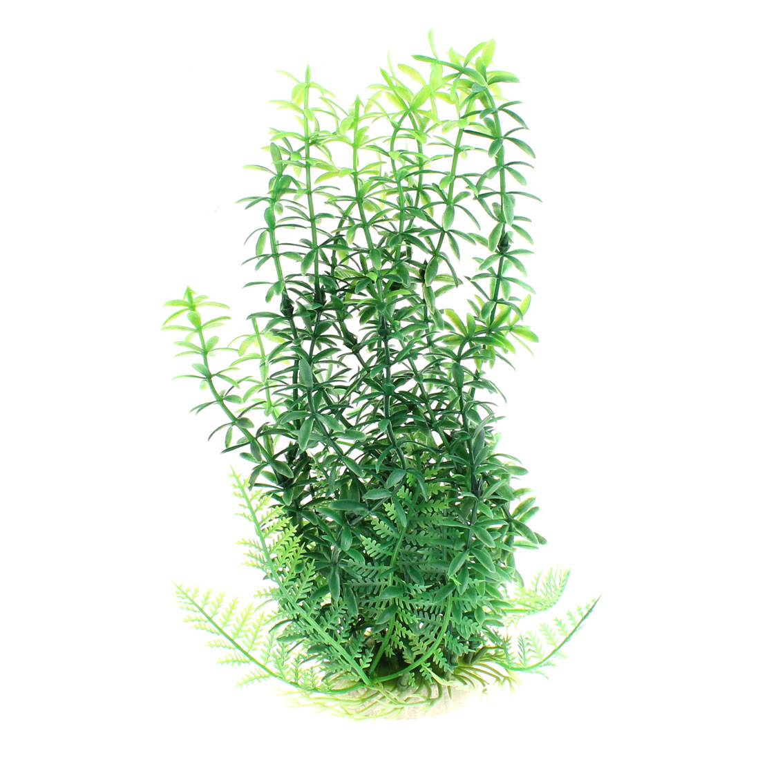 Aquarium Plastic Artificial Underwater Plant Grass Ornament 22cm High