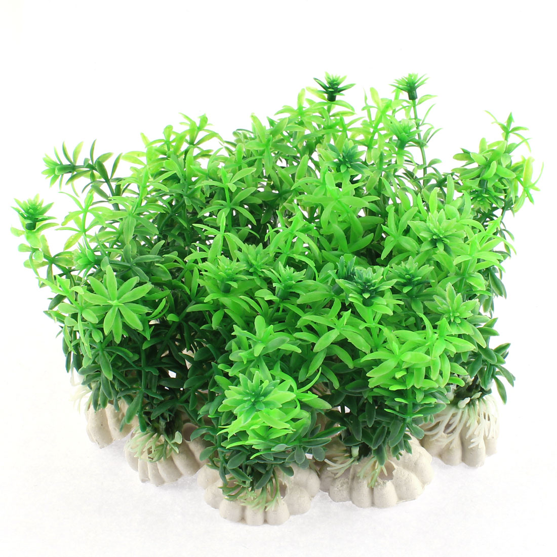 Aquarium Tank Artificial Water Landscape Plant Green 11cm Height 12pcs