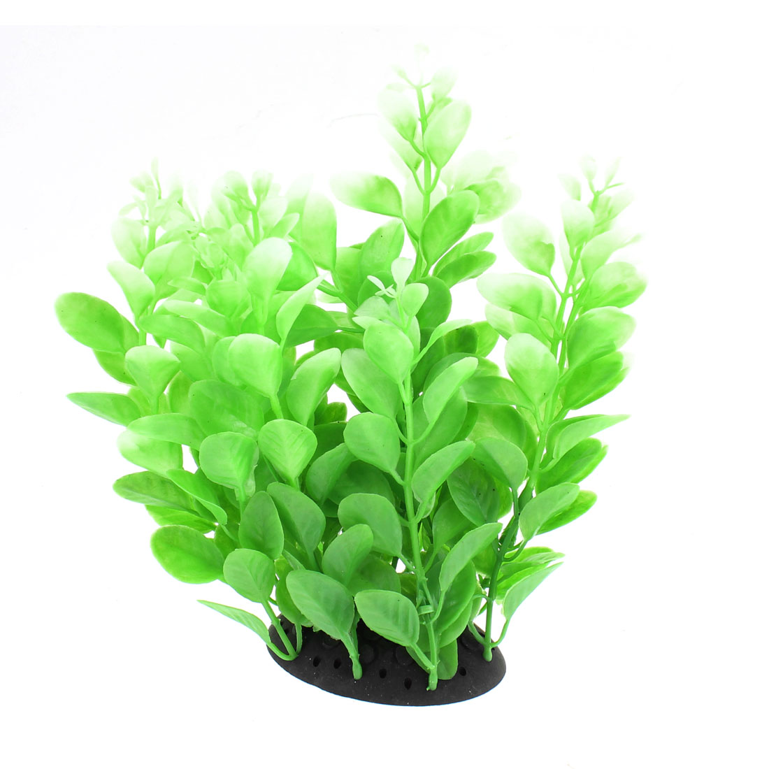 Aquarium Plastic Artificial Underwater Plant Decor Green