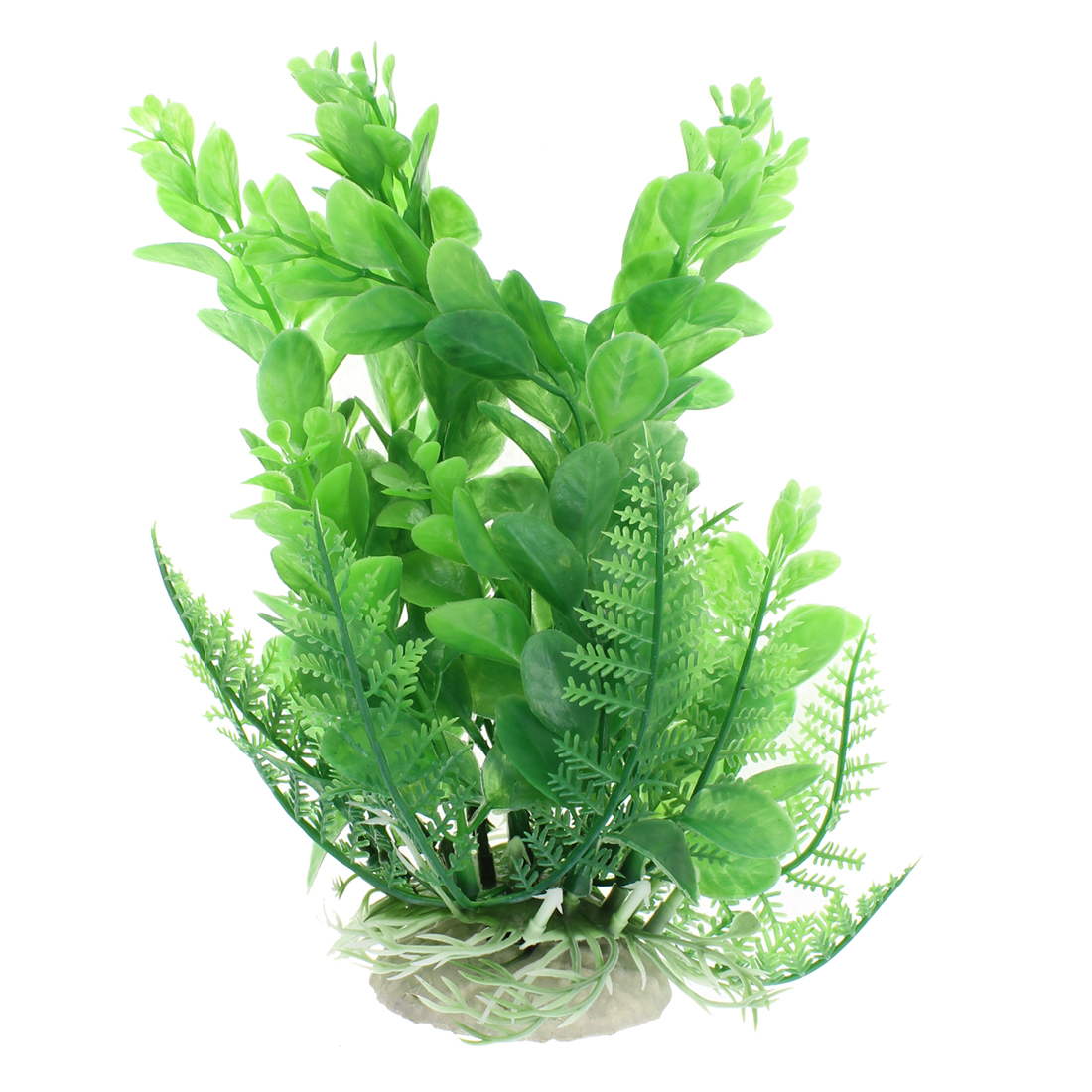 Aquarium Plastic Underwater Aquascaping Plant Decor 17cm Height