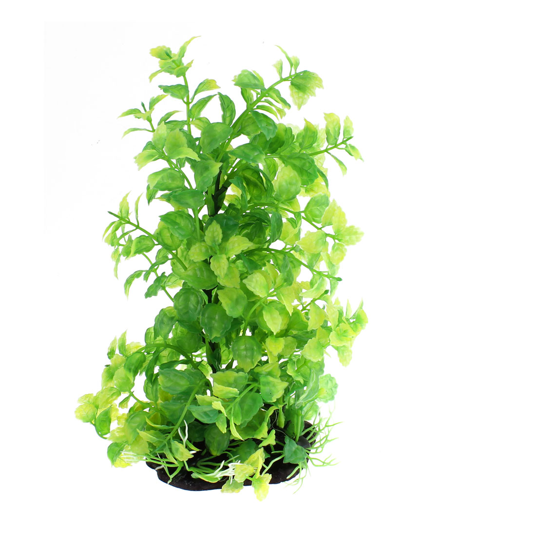 Aquarium Plastic Emulational Underwater Plant Decoration Green 23 x 15cm